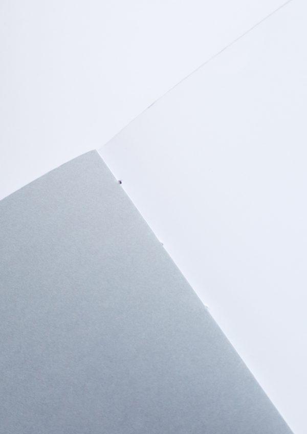 intérieur du carnet A5 fait main Nocturne