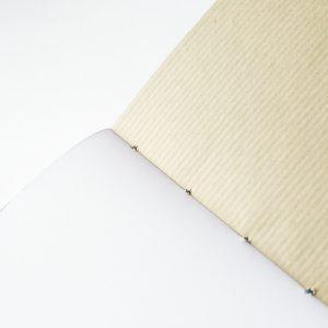 pages kraft des carnets faits main