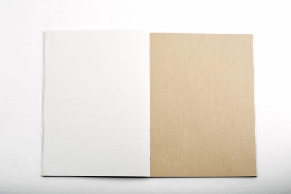 papier kraft du carnet Ecrin