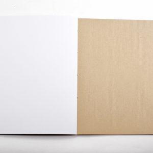 papier kraft du carnet Entre-temps