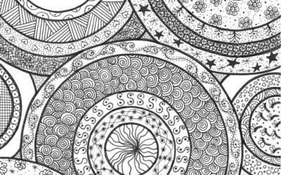 Le doodling :  de beaux dessins faciles