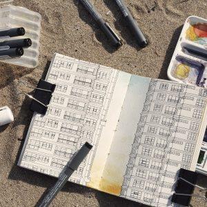 Un papier aquarelle pour dessiner sans crainte et sans peur de gondolement