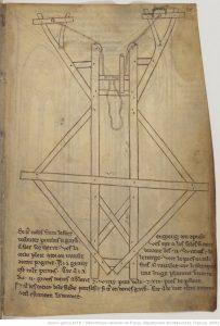 dessin d'une machine de l'époque