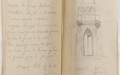 Les carnets de voyage au 19ème siècle