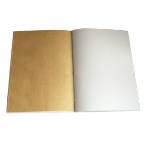 des pages en papiers kraft pour dessiner tes visualisations