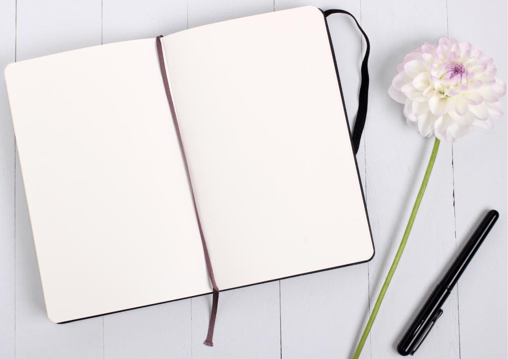 remplir ton carnet avec ta créativité