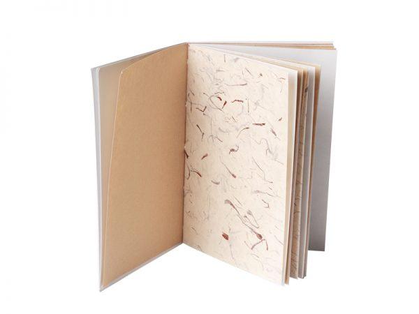 un papier herbacé
