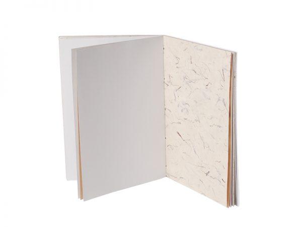 du papier blanc recyclé