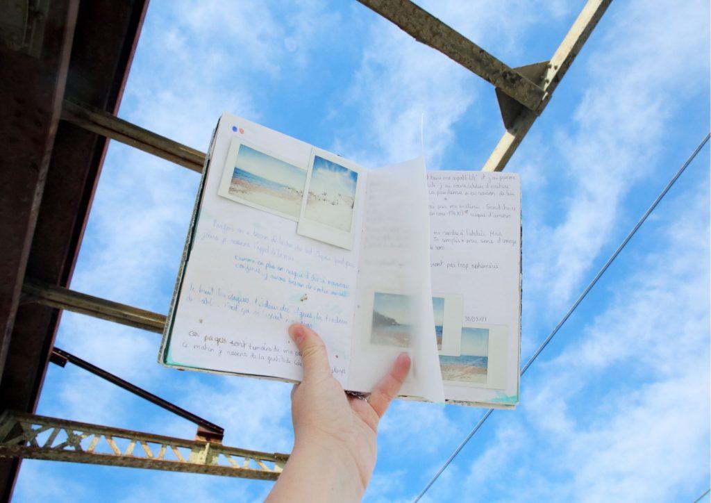 idée pour remplir un carnet de voyage