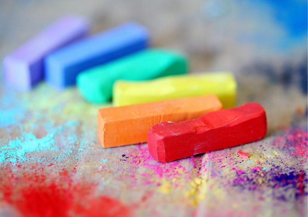 des pastels pour mettre de la couleur dans ta vie